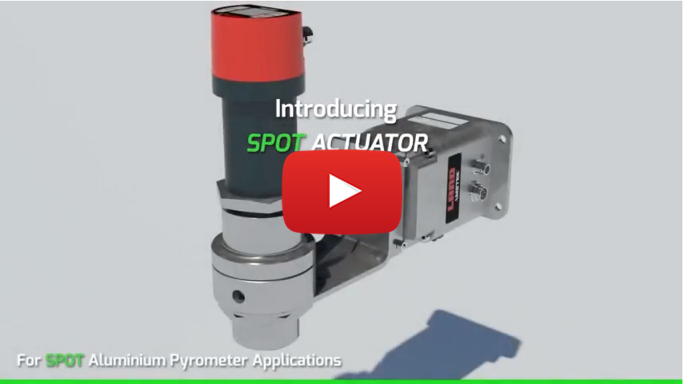 SPOT Actuator - Enhanced Targeted Alignment for SPOT Aluminium Pyrometer Video