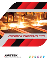 Combustion Solutions For Steel Brochure